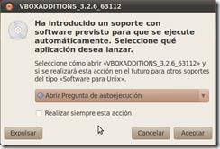 Instalación Linux: autoejecución