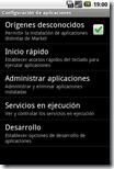 Ajustes - Aplicaciones