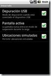 Ajustes - Aplicaciones - Desarrollo