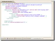 Manifiesto - XML