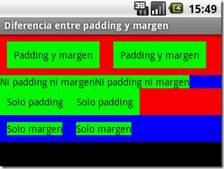 Diferencia entre padding y margen